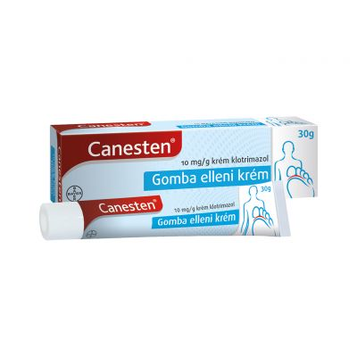 Canesten 10 mg/g gomba elleni krém 30 g