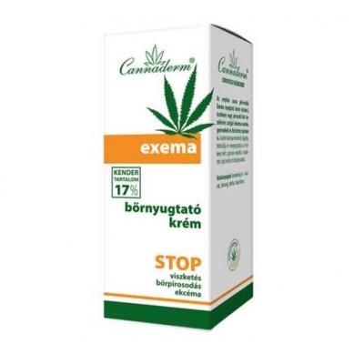 Cannaderm Atopos Exema bőrnyugtató krém 50 g