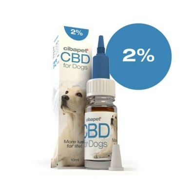 Cibapet 2% CBD olaj kutyáknak 10 ml