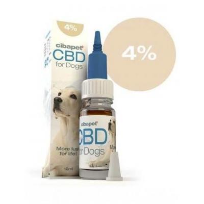 Cibapet 4% CBD olaj kutyáknak 10 ml