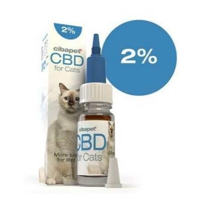Cibapet 2% CBD olaj  macska 10 ml