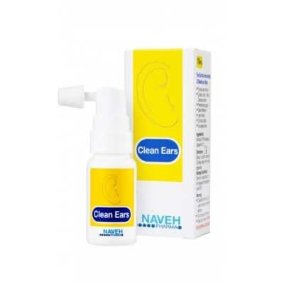 Clean Ears fülzsír eltávolító spray 15 ml