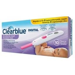 Clearblue ovulációs teszt, digitális, 10 db