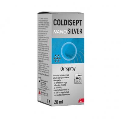 Coldisept NanoSilver orrspray 20 ml