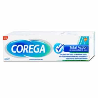 Corega Műfogsorrögzítő krém Total Action 40 g