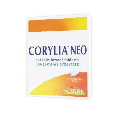 Corylia NEO bukkális bevont tabletta 40 db