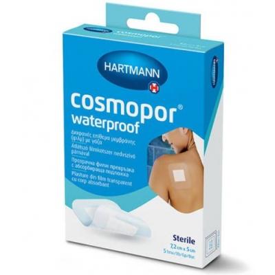 Cosmopor vízálló steril sebtapasz 7,2 cm x 5 cm 5 db