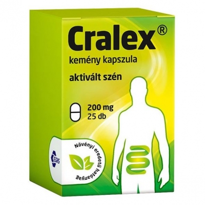 Cralex kemény kapszula hasmenésre 25 db