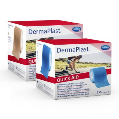Dermaplast quick aid sebtapasz bőrszínű 6cm x 2m 1 db