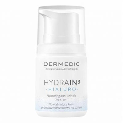 Dermedic Hydrain³ Hidratáló ránctalanító nappali krém 55 ml