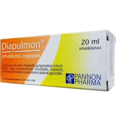 Diapulmon inhalációs cseppek 20 ml