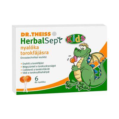 Dr Theiss HerbalSept nyalóka torokfájásra  6 db