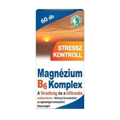Dr. Chen Magnézium B6 Stressz kontroll tabletta 60 db