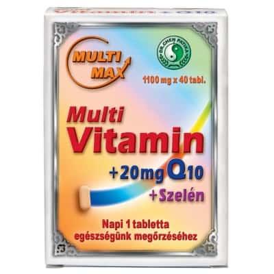 Dr. Chen multi-max vitamin tabletta 40 db