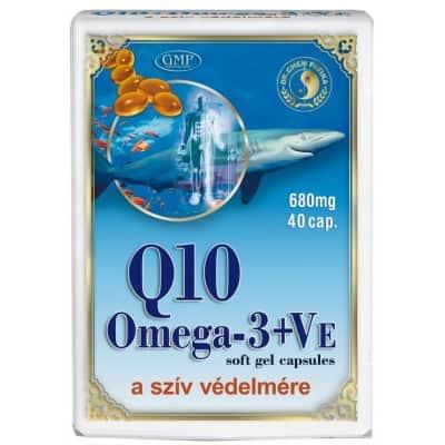 Dr. Chen Q10 koenzim omega-3, E-vitamin kapszula 40 db