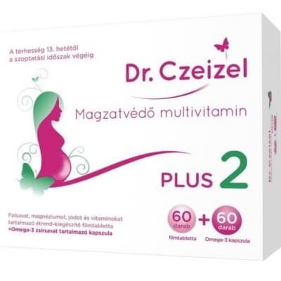Dr. Czeizel Magzatvédő multivitamin plus 2 60 + 60 db