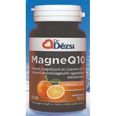 Dr. Dézsi magneQ10 rágótabletta 60 db
