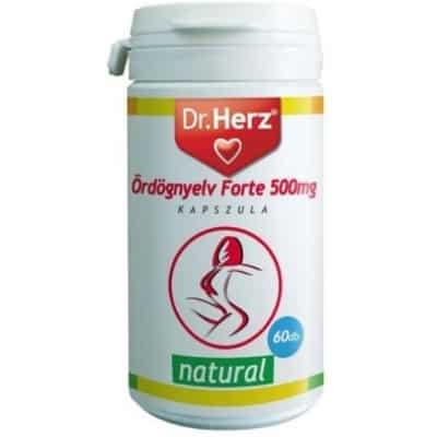 Dr. Herz ördögnyelv forte 500 mg kapszula 60 db