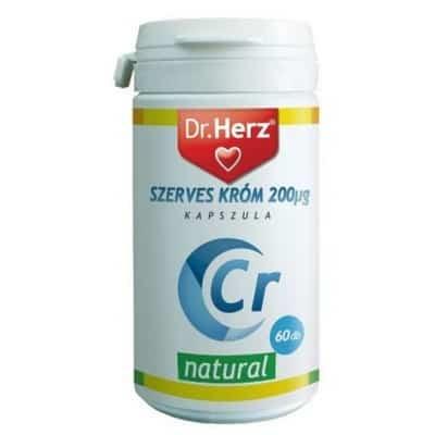 Dr. Herz szerves króm-pikolinát 200µg 60 db