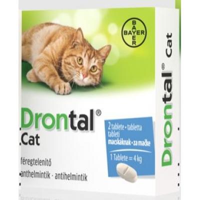 Drontal Cat féreghajtó tabletta 2 db