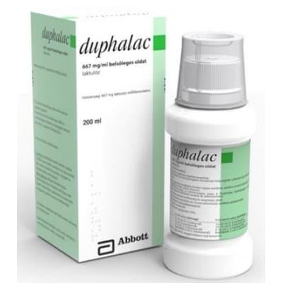 Duphalac belsőleges oldat székrekedésre 200 ml