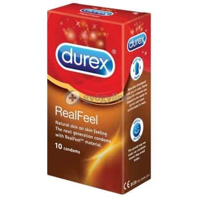 Durex Real Feel latexmentes óvszer, 10 db