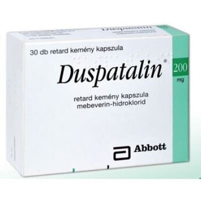 Duspatalin 200 mg retard kemény kapszula 30 db
