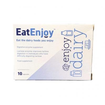 EatEnjoy Dairy emésztőenzimeket tartalmazó étrend-kiegészítő kapszula 10 db