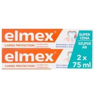 Elmex red fogkrém fogszuvasodás ellen 2 x 75 ml