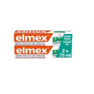 Elmex JUNIOR fogkrém 6-12 éves korig 2x75 ml