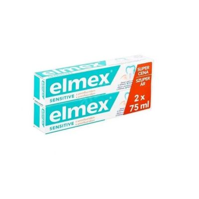 Elmex fogkrém sensitive duopack 2x75 ml