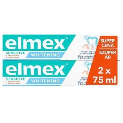 Elmex fogkrém sensitive white duopack 2x75 ml