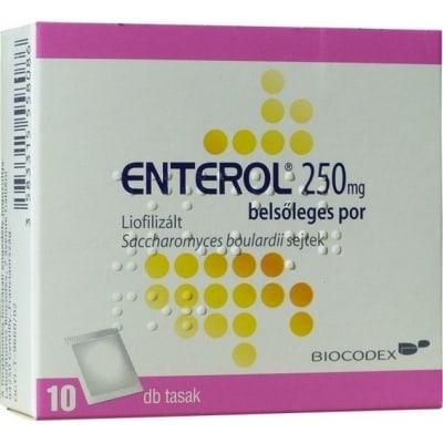 Enterol 250 mg belsőleges por hasmenésre 10 db