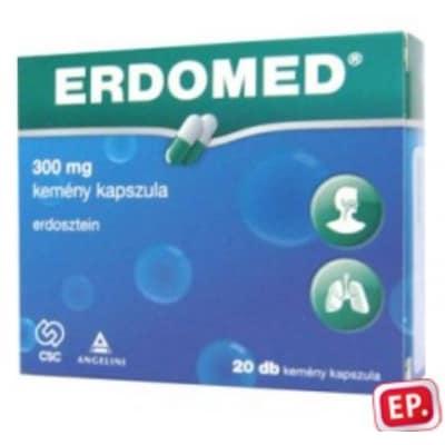 Erdomed köptető, hurutoldó 300 mg kemény kapszula 20 db