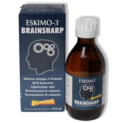 Eskimo-3 Brainsharp halolaj 210 ml
