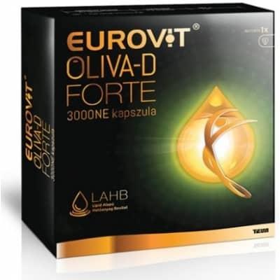 Eurovit Oliva-D Forte 3000NE kapszula 60 db