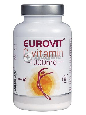 Eurovit C-vitamin 1000 mg retard filmtabletta, 90 db