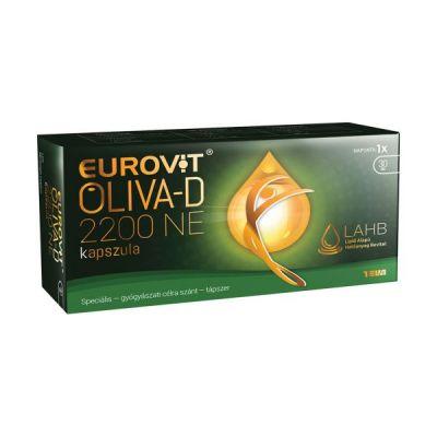Eurovit oliva-D 2200NE kapszula 30 db