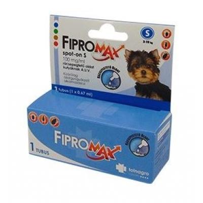 Fipromax spot-on S-es rácsepegtető oldat kutyáknak 1 db