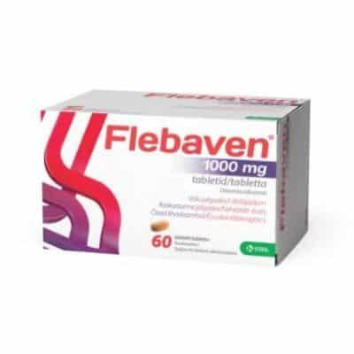 Flebaven 1000 mg tabletta 60 db