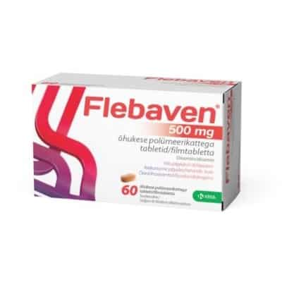 Flebaven 500 mg tabletta 60 db