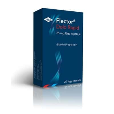 Flector Dolo Rapid 25 mg lágy kapszula 20 db