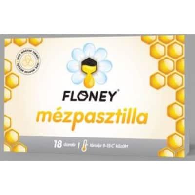 Floney mézpasztilla natúr 18 db