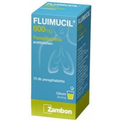 Fluimucil Forte 600 mg pezsgőtabletta 10 db
