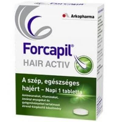Forcapil hair activ tabletta 90 db