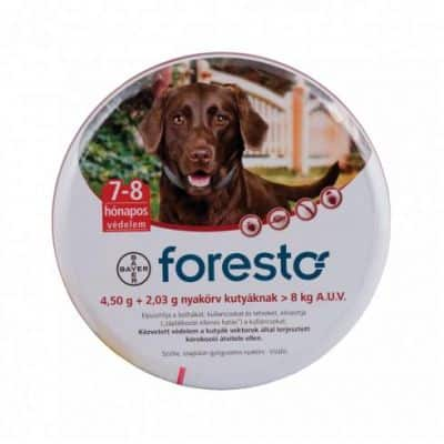 Foresto nyakörv bolha, kullancs ellen 8 kg feletti kutya 1 db