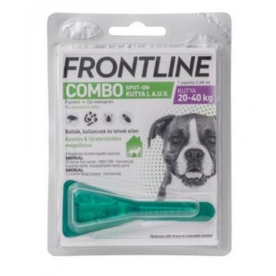Frontline combo spot-on kutya L (20-40 kg) 1 db