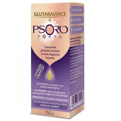 Glutabalance Psorio Forte liposzómás glutation tartalmú étrend-kiegészítő folyadék 150 ml