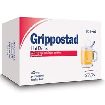 Grippostad hot drink forró ital megfázásra 10 db