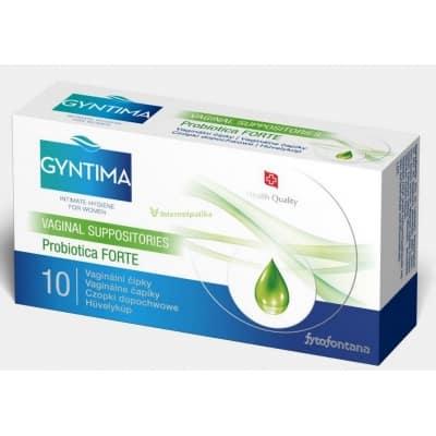 Gyntima probiotica forte hüvelykúp 10 db